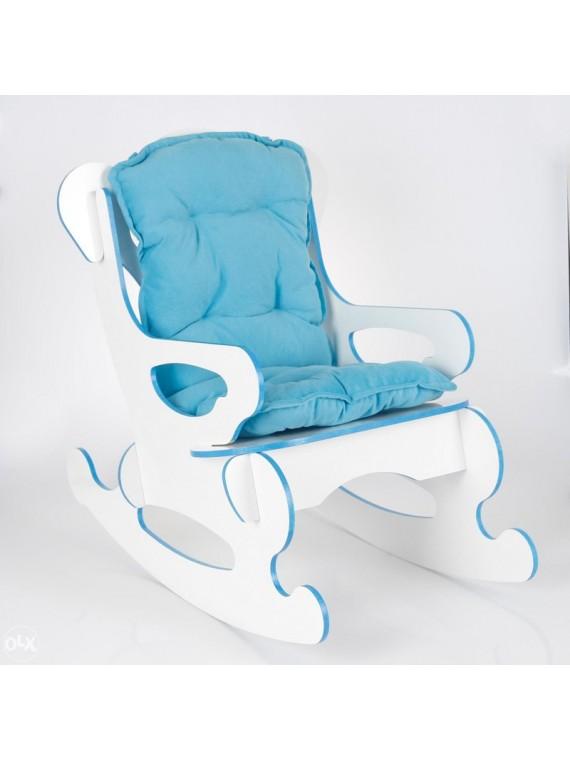 Dječija stolica za ljuljanje (plava)