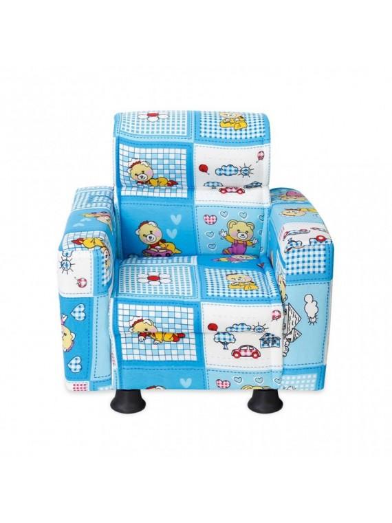 Prado fotelja za djecu (plava)
