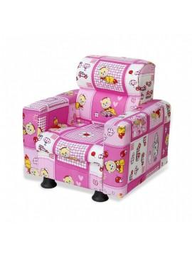 Prado fotelja za djecu (roza)
