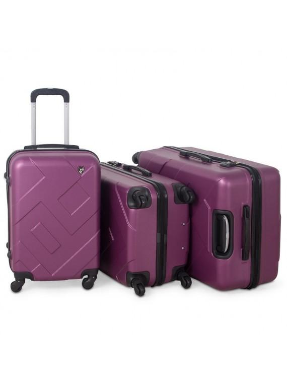 Putni kofer Malp ABS Citadel bordo (set)