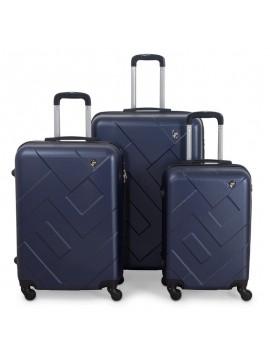Putni kofer Malp ABS Citadel tamno plavi (set)