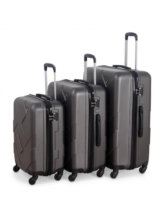 Putni kofer Malp ABS Citadel sivi (set)