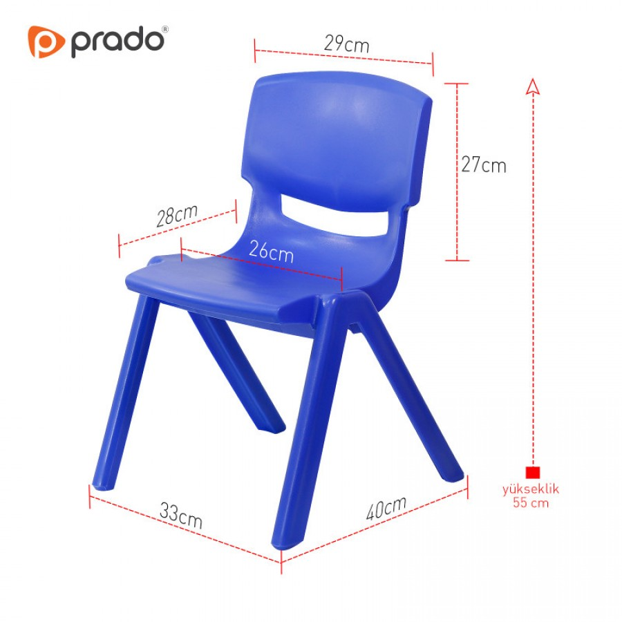 Plastična stolica za djecu