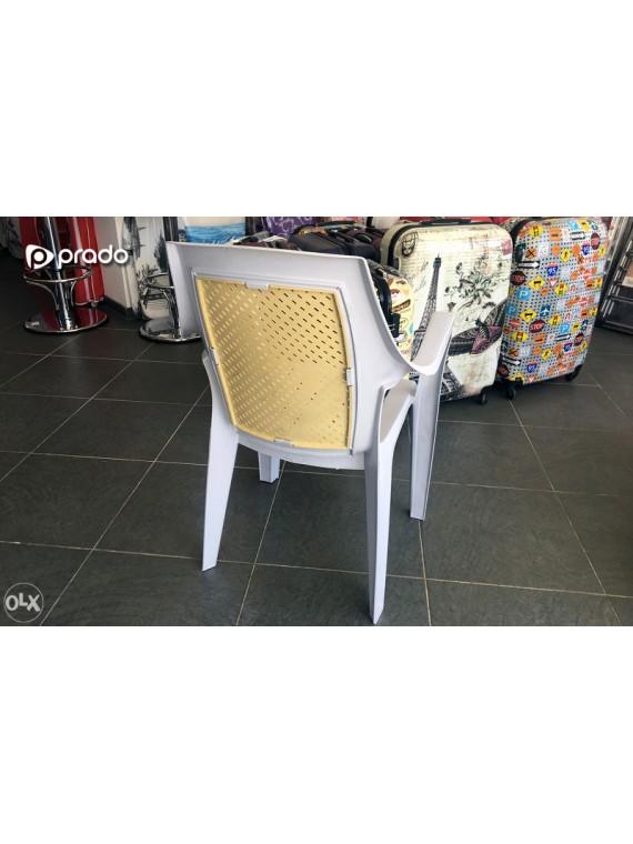 Plastična stolica Elit (bijela)