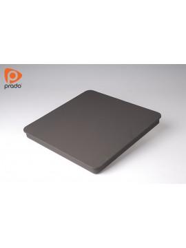 Hotplate crna kockasta, ringla 220x220mm, 2000W