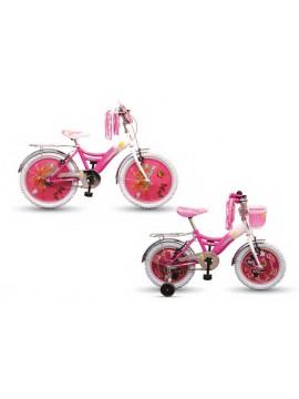 Dječije biciklo za gepekom i zatvorenim lancom