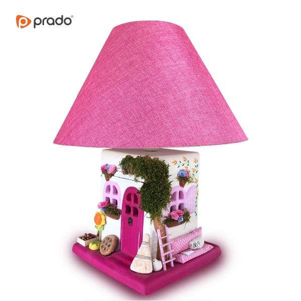 Velika dekorativna keramička lampa