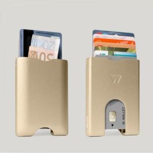 Novčanik Walter- Wallet Za Kartice Aluminijski Gold